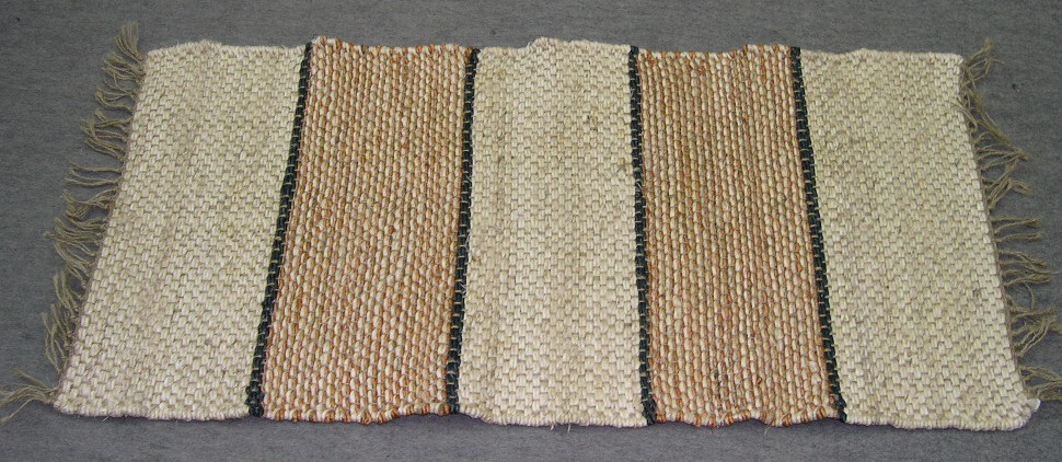 RECT NATURAL JUTE DOOR MAT